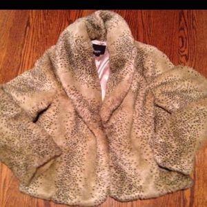 Mossimo faux fur coat